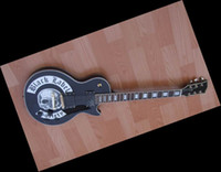 Solid string labels - New custom shop Black Label Society Skull Logo Guitar electric guitar