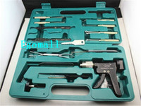 Wholesale Auto lock open tool combination box car tools locksmith tools H289