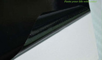 Wholesale Factory Glossy Bubble Free Vinyl Film PVC Fabric Roll Vinyl Sticker on Full Body Black
