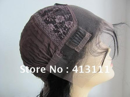 Wholesale Popular Lace Wigs Cap construction with adjusted straps and combs inner net color size caps free