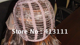 Wholesale High quality Lace Wigs Cap lace front wig cap construction with adjusted straps color size caps