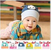 Wholesale Baby hat winter baby cap panda children sleeve head hat dandys