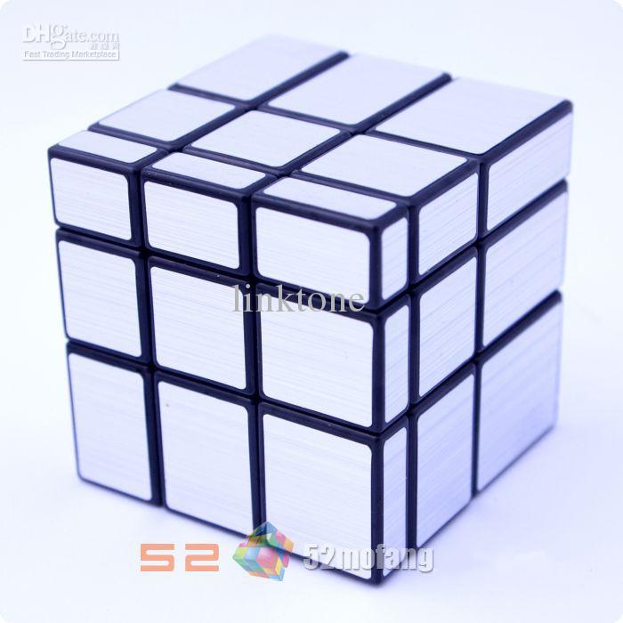 acheter livraison gratuite noir argent miroir puzzle cubes. Black Bedroom Furniture Sets. Home Design Ideas