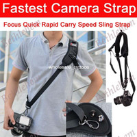 Wholesale New Focus F Quick Rapid Carry Speed Sling Strap For Dslr Camera D D Mark II D800 A77 D Mark III