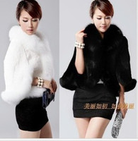 Wholesale Imitation Fur Collar Warmer Coat Neck Shawl Imitation Caccoon Fur Fox Fur Wedding Dress