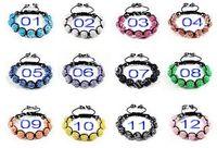 Bohemian wholesale hematite jewelry - 100pcs MM Resin Crystal Beads Multicolor Bracelets Bling Hematite Beads Bracelet Jewelry