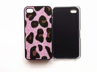 Plastic For Apple iPhone  style Leopard Print Hard Case for Iphone4 iphone 4 4s 10pcs lot
