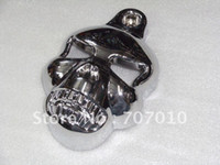 Wholesale skull Horn Cover for Billet Chrome V Shield