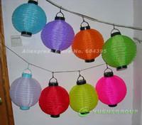 Wholesale quot Solar Powered Chinese Lantern Patio Garden Party Festival Decoration Yard LED light