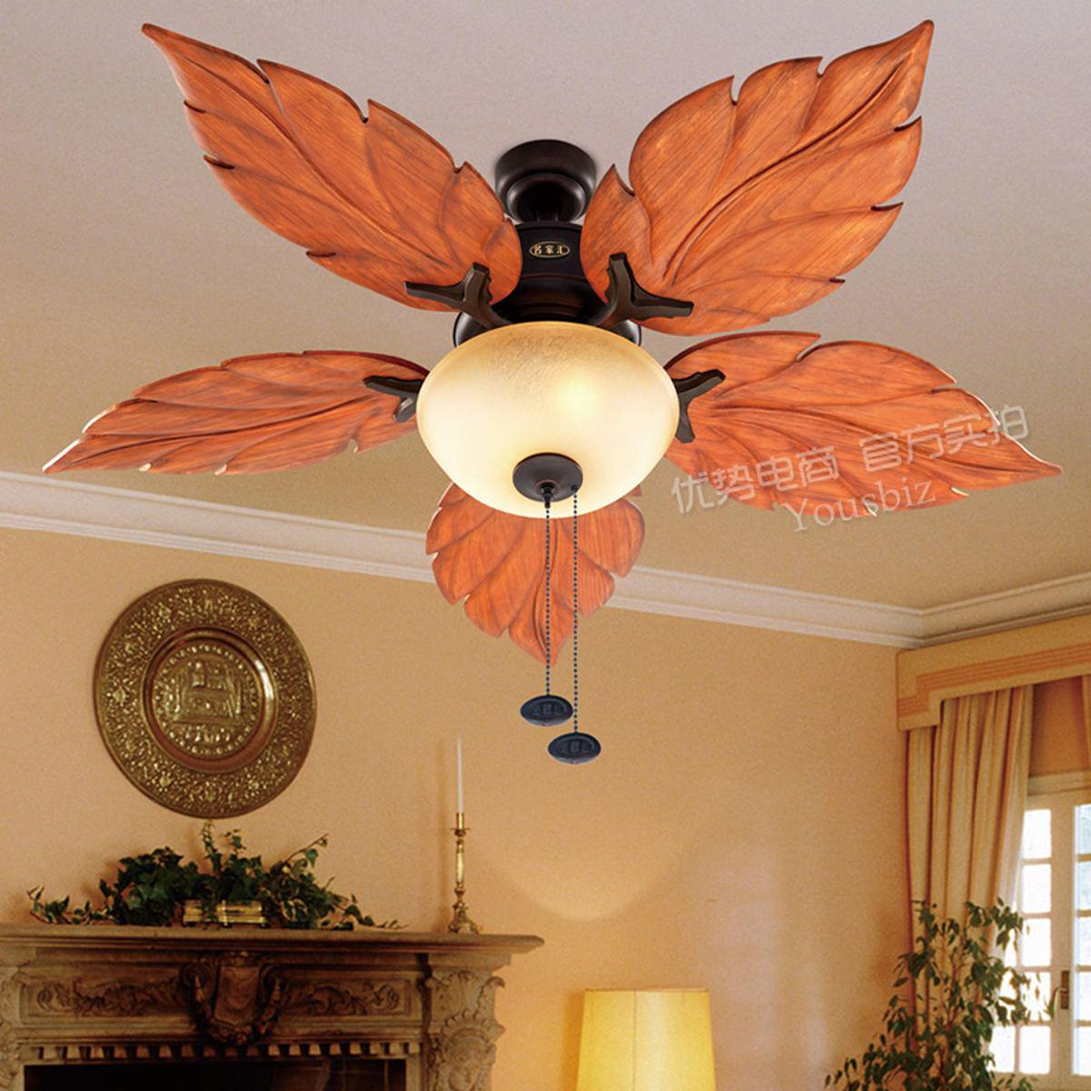 Living room fan light