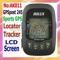 Wholesale HOLUX GPS port GPS receiver stopwatch locator for bike Data Logger range finder code table gps t