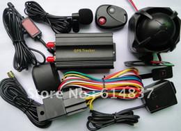 Pc shock del sistema en Línea-con Shock Sensor TK103B vehículo / del coche alarma GPS perseguidor del coche cortó el aceite / Power Support System PC / Web T
