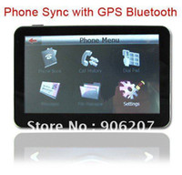 Wholesale New HD Screen Inch Car GPS Navigation FM Bluetooth AV IN GB D Map
