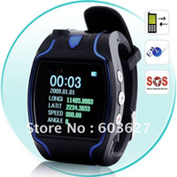 Wholesale 2 way voice phone call SMS inquiry SOS real time track on google map gps watch for elderly
