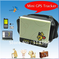 Wholesale Mini GSM GPS Tracker Kids Pet Tracking Realtime Dog TK201 With Quad Band for kids old people Locator