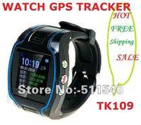 GPS Tracker Yes 13x19x6cm factory selling High quality Watch gps tracker 19N personal gps tracker watch cheap TK109 wacth GPS