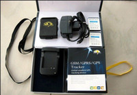 Wholesale SPY Mini GSM GPRS GPS Tracker Tracking System Real Time Device Locator