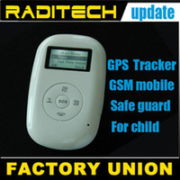 Wholesale Free shippping mini GSM GPRS GPS mobile phone tracker for child kid elderly car gps tracking portabl