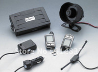 Wholesale GPS Newly Design Long Range Monitoring SPY LCD Two Way Car Alarm with Remote Engine Start LCD Transm