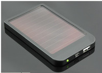 Wholesale 2600mAh Power Bank USB Solar Panel Charger Battery for MID MP3 MP4 PDA Phone Retail B