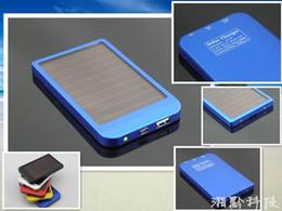 Панель зарядное устройство 2600MAH солнечной батареи портативный банк силы питания мобильного для сотового мобильного телефона MP3 от Производители клетки солнечной панели