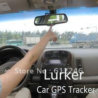 Yes best gmc - Freeshipping GPRS tracker best anti thief gps tracker hidden gps Anti theft portable Rear view mirro