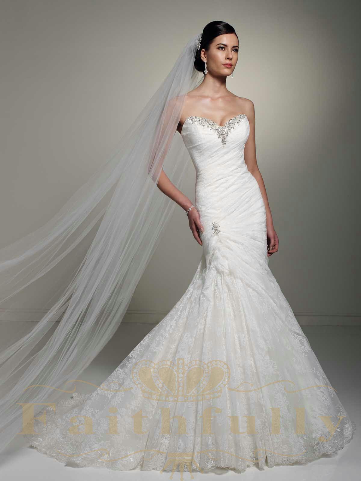 Bodice Wedding Dress Sweetheart Corset Back Beaded Sequins