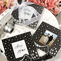 Wholesale Wedding Items Card Glass Coasters Photo Frame Wedding Collections Party Decorations SET