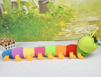 Wholesale 90cm worm Stuffed plush toys Nano foam particles toys Super soft and comfortable
