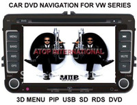 Wholesale GPS for VW golf jetta polo passat skoda car DVD player