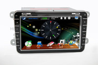 Wholesale HOT inch car DVD for VW series with GPS DVD ipod tv bluetooth RDS PIP gift