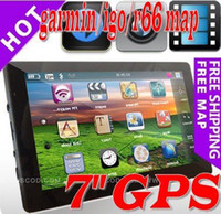 Wholesale 7 gps navigation system For Car support garmin igo r66 map low price freeshipping