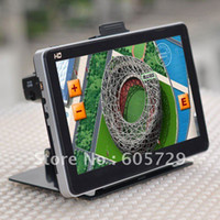 Wholesale 7 inch GPS car navigation FM DDR M with GB support Garmin igo r66 map