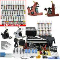 Cheap 4 Guns tattoo kits Best Professional Kit A4005 tattoo gun kit