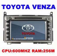 English toyota car gps navigation - New arrivel Car DVD for TOYOTA VENZA In dash Car Navigation System with GPS Radio Bluetooth IPOD R