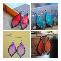 Wholesale New Styling Alloy Earrings Jewelry Colored thread Earrings Jewelry DH5145