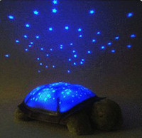 Wholesale EMS free for AU Twilight Turtle Night Light Stars Constellation Lamp turtle projector lamps