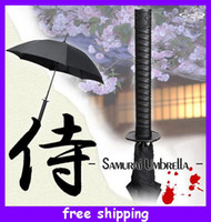 Wholesale Samurai Ninja Katana Umbrella Black Umbrella Samurai Sword