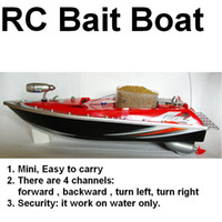 Wholesale working distance yd RC Fishing Bait Boat