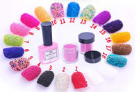 18 colors ` ` Fashion hottest nail art caviar manicure set caviar nail polish 18 colors