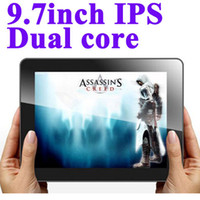 Wholesale Ampe A90 inch IPS Points Screen Android Tablet PC Freescale Dual Core Wifi Bluetooth