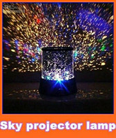 Wholesale Amazing Sky Star Master Night Light Projector LED Lamp XMAS gift Room Decoration backlight kare EMS