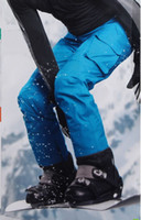 Wholesale Ski pants trousers trousers male thickened Thinsulate waterproof and windproof large warm code free