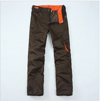 Wholesale Mens Waterproof Breathable warm wear ski pants charge g