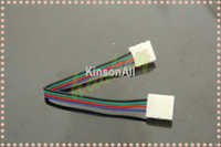 Wholesale 10pcs mm pin Connector with Wire For SMD RGB LED Strip No Need Soldering