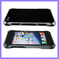 Wholesale Sector Metal Frame Aluminum Bumper Case Protective Aviation Cases for iphone G with retail box