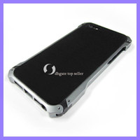 Wholesale black COLOR Sector Aluminum Metal Bumper Case Cover for iPhone