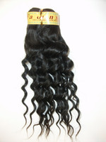 Indian Hair weft Treated Human hair Extension Color1b# 2# 4#