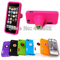 Wholesale 3D Digital Camera Case Cover Skin For Apple iPhone G With Kickstand Support Flexible Silicone Mul