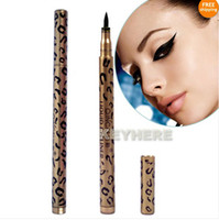 Waterproof Liquid  Leopard Design Liquid Eyeliner Pen Black Eye Liner Pencil Makeup New Waterproof